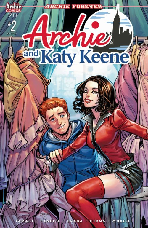 ARCHIE#711 (ARCHIE AND KATY KEENE #2 OF 5)