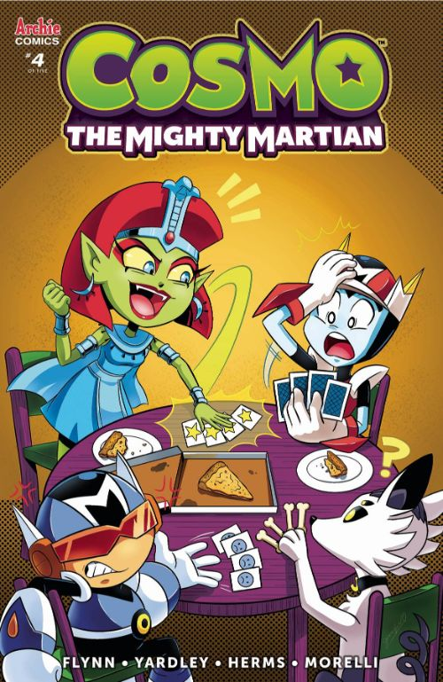 COSMO THE MIGHTY MARTIAN#4
