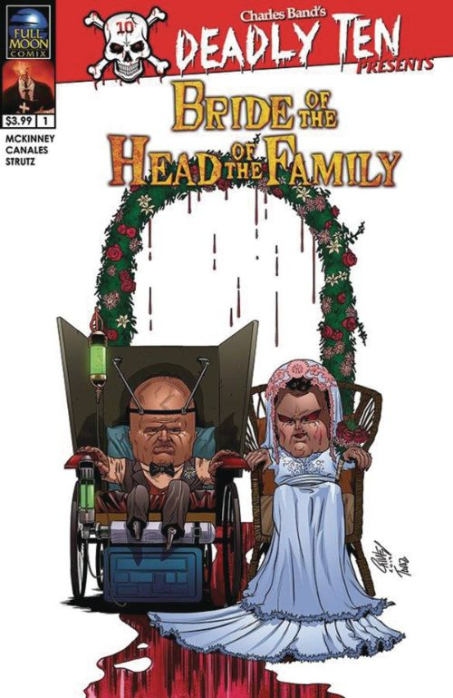 DEADLY TEN PRESENTS: BRIDE OF THE HEAD OF THE FAMILY#1