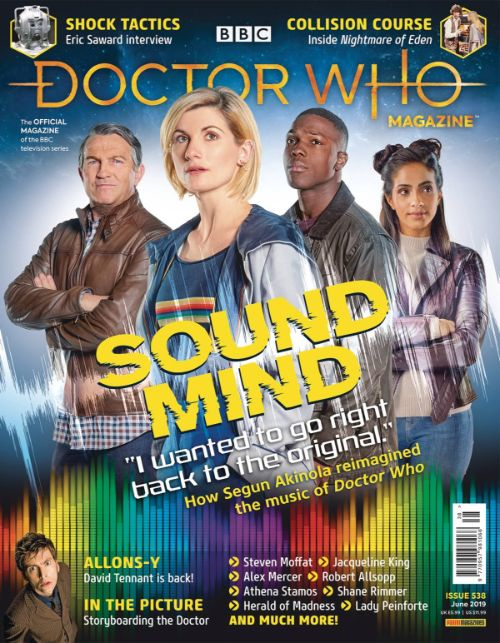 DOCTOR WHO MAGAZINE #548