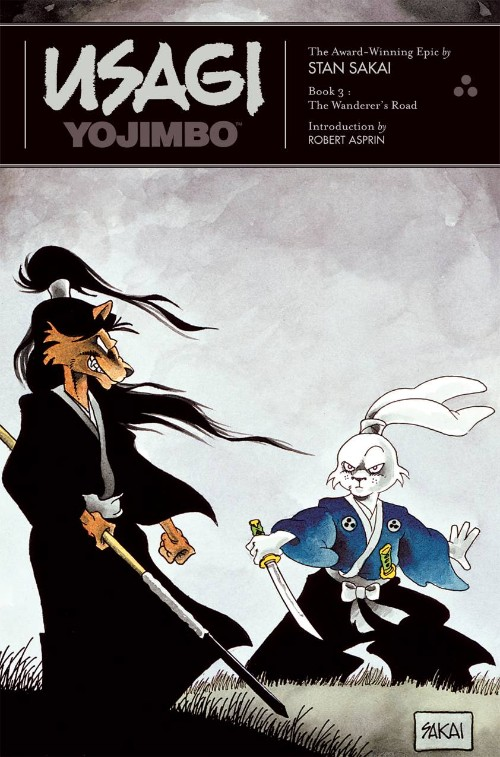USAGI YOJIMBO BOOK 03: THE WANDERER'S ROAD