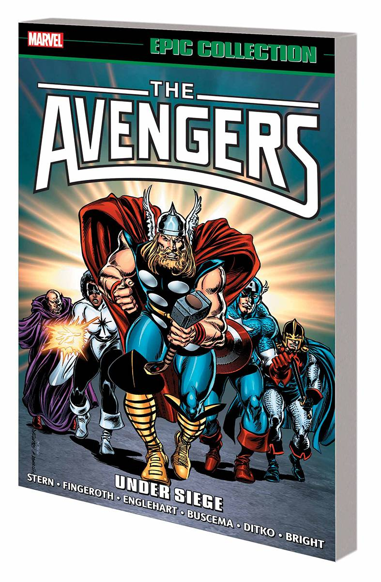 AVENGERS EPIC COLLECTION VOL 16: UNDER SIEGE