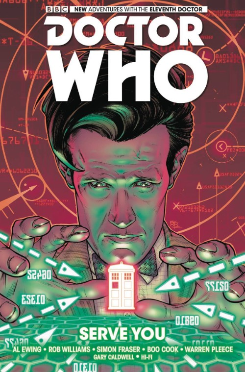 DOCTOR WHO: THE ELEVENTH DOCTOR VOL 02: SERVE YOU