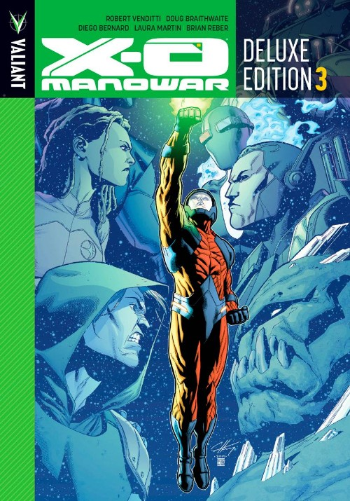 X-O MANOWAR DELUXE EDITION VOL 03