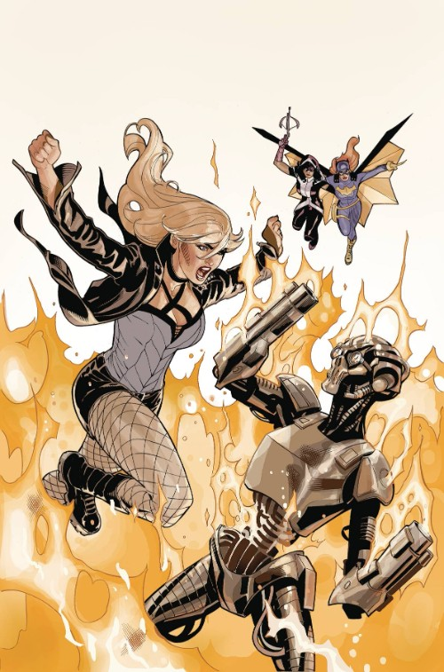 BATGIRL AND THE BIRDS OF PREY#21