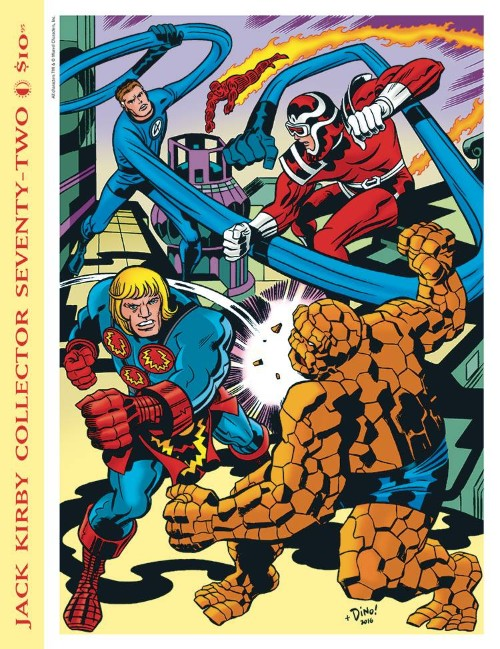 JACK KIRBY COLLECTOR#72