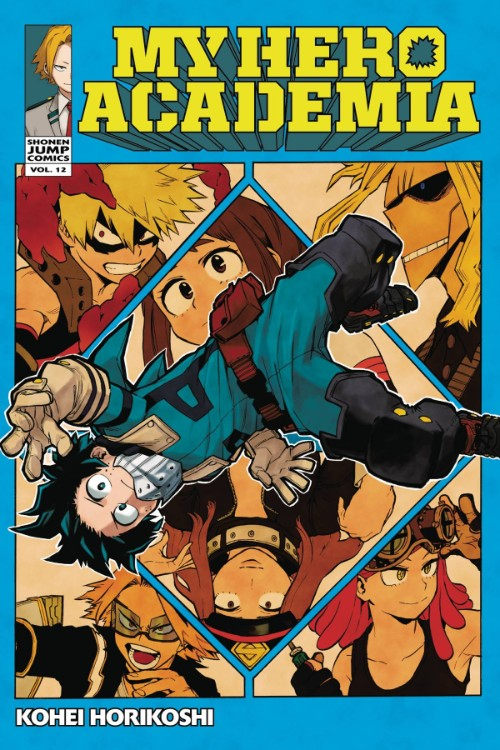 MY HERO ACADEMIA VOL 12