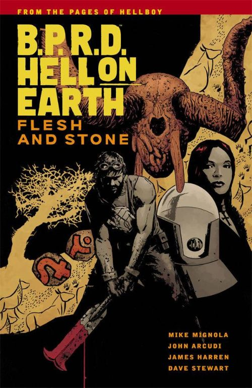 B.P.R.D. HELL ON EARTHVOL 11: FLESH AND STONE