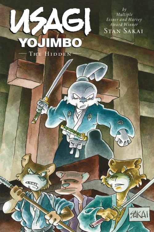 USAGI YOJIMBO VOL 33: THE HIDDEN