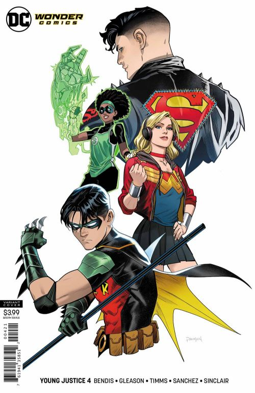 YOUNG JUSTICE#4