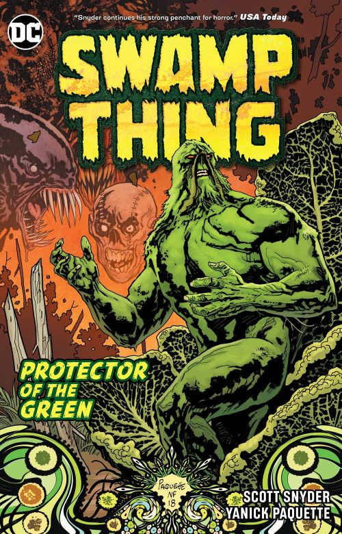 SWAMP THING: PROTECTOR OF THE GREEN: THE ESSENTIAL EDITION