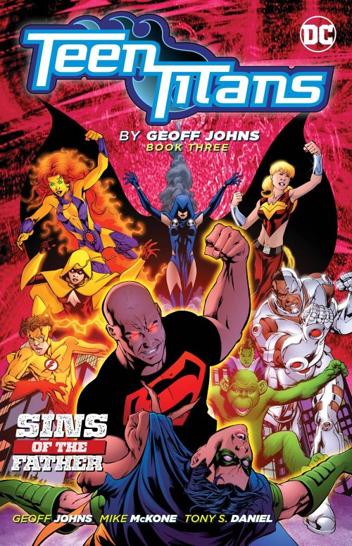 TEEN TITANS BY GEOFF JOHNS BOOK 03