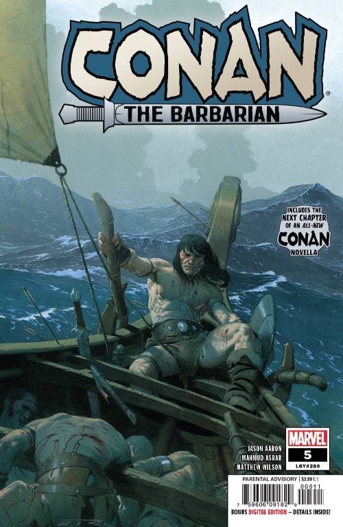 CONAN THE BARBARIAN#5