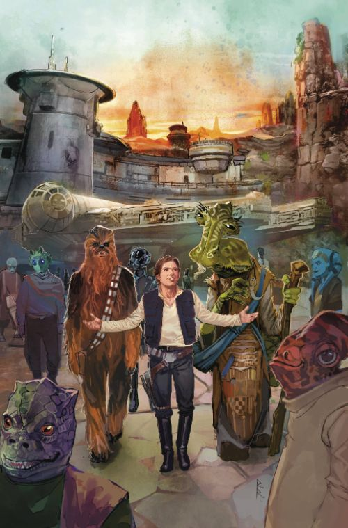 Star Wars: Galaxys Edge #1