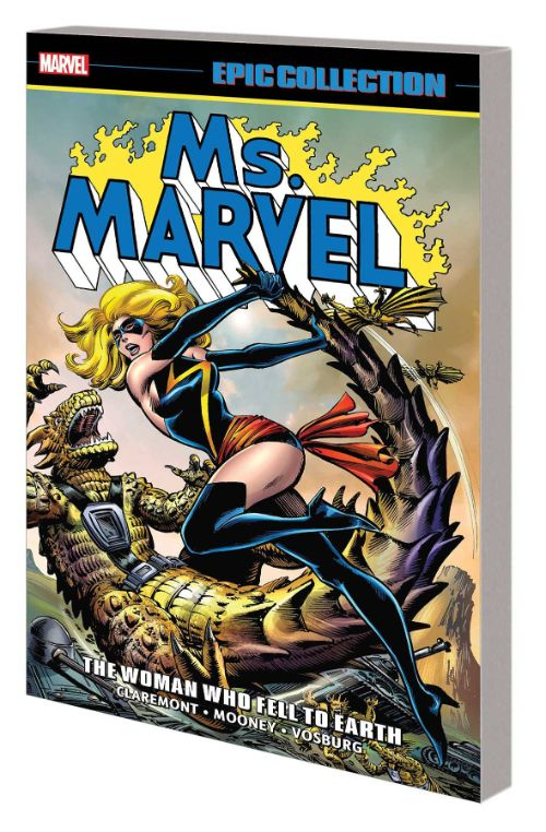 MS. MARVEL EPIC COLLECTIONVOL 02: THE WOMAN WHO FELL TO EARTH