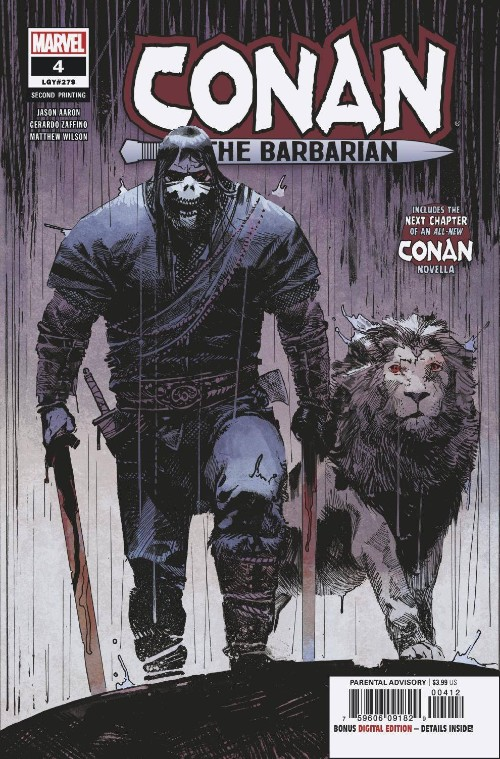 CONAN THE BARBARIAN#4