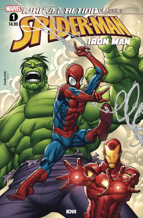 MARVEL ACTION CLASSICS: AVENGERS STARRING IRON MAN#1