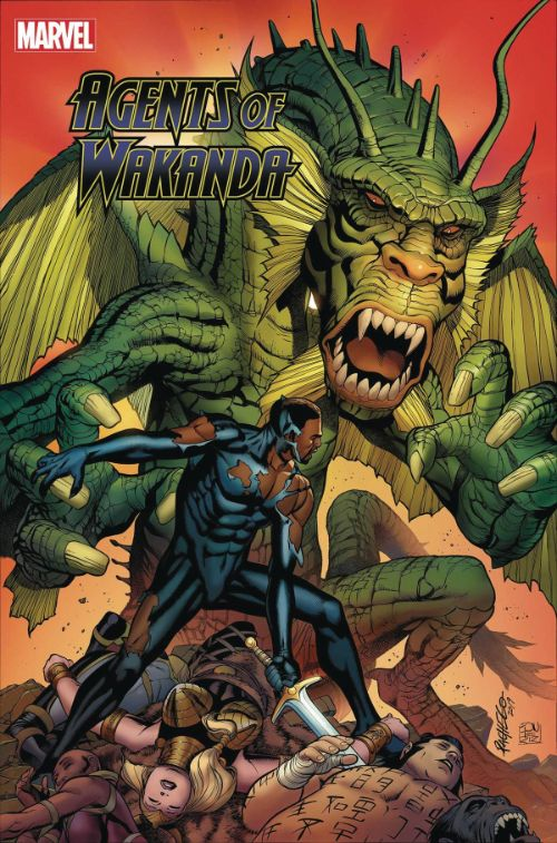 BLACK PANTHER AND THE AGENTS OF WAKANDA#8