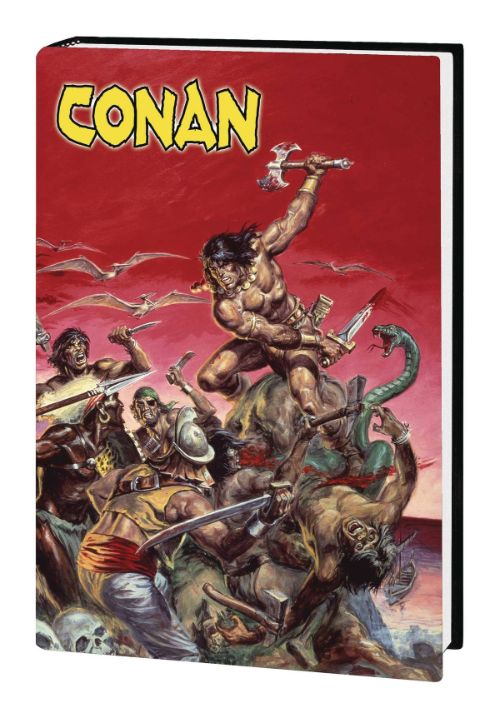 MARVEL ART OF SAVAGE SWORD OF CONAN