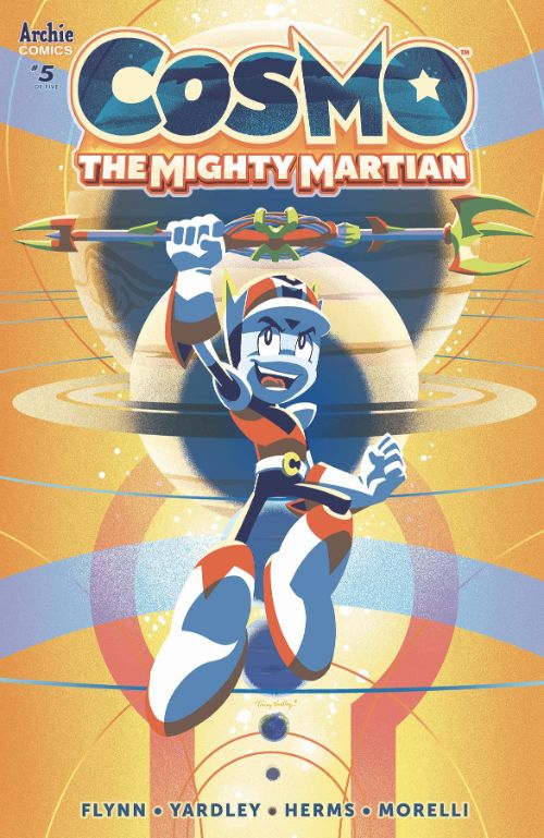 COSMO THE MIGHTY MARTIAN#5