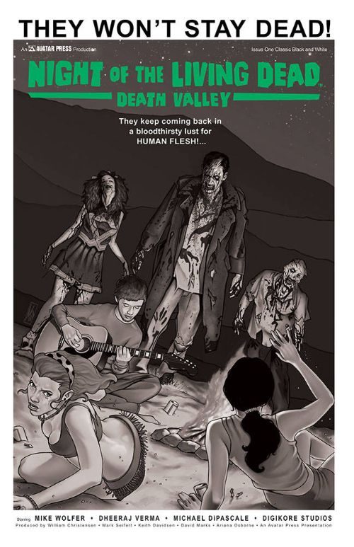 NIGHT OF THE LIVING DEAD: DEATH VALLEY#1