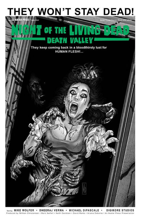 NIGHT OF THE LIVING DEAD: DEATH VALLEY#3