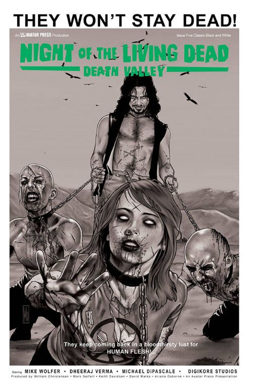 NIGHT OF THE LIVING DEAD: DEATH VALLEY#5