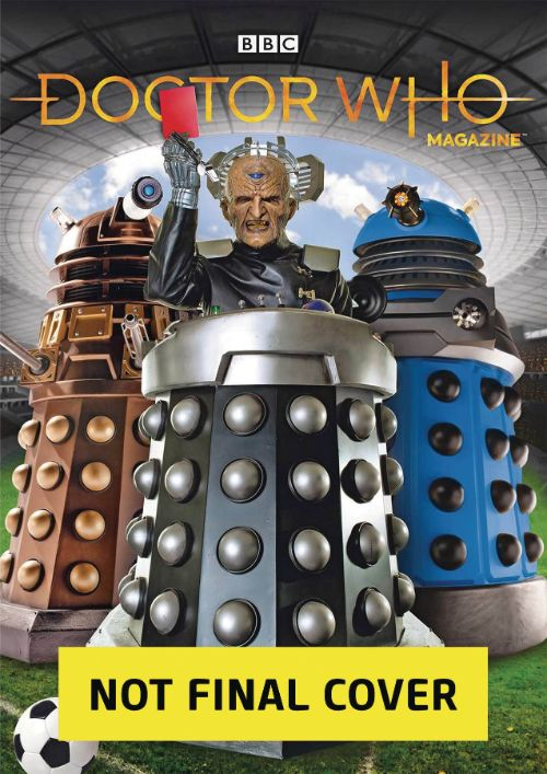 DOCTOR WHO MAGAZINE #550