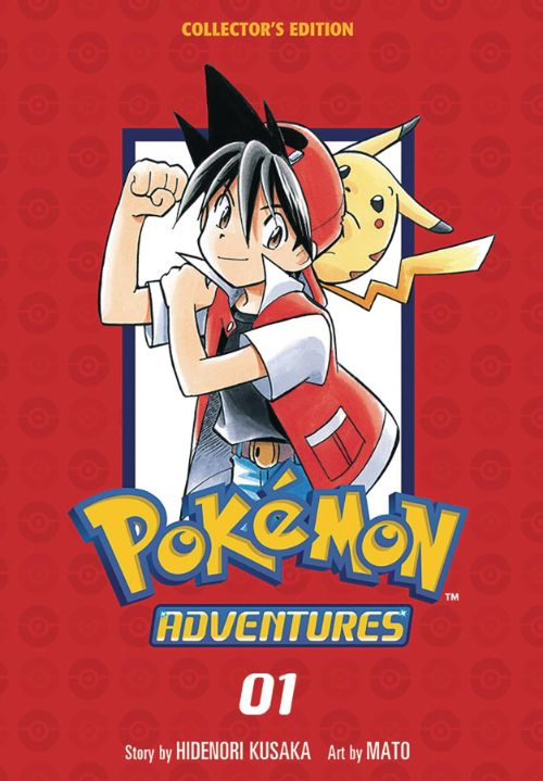 POKEMON ADVENTURES COLLECTOR'S EDITIONVOL 01