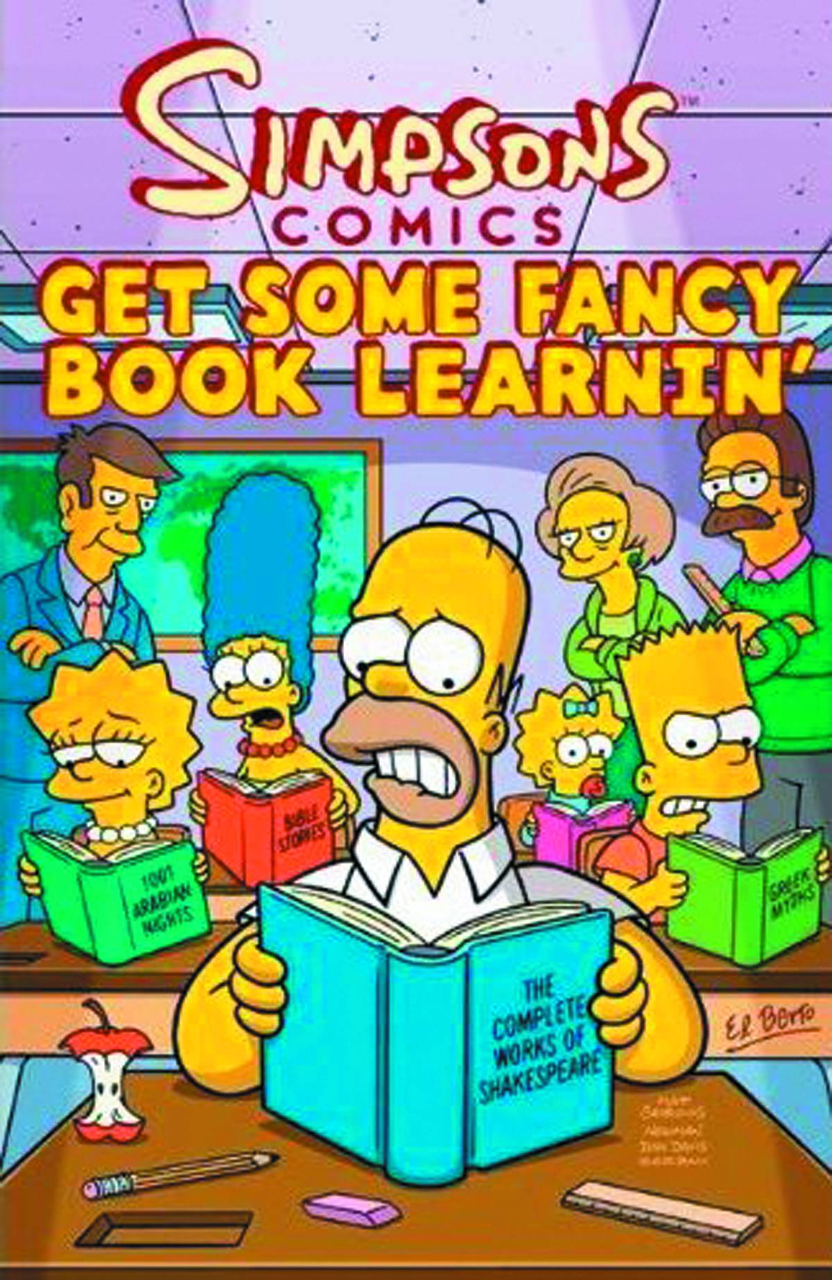 SIMPSONS COMICS [VOL 18:] GET SOME FANCY BOOK LEARNIN'