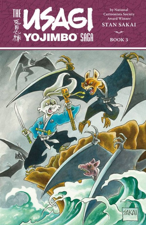 USAGI YOJIMBO SAGA BOOK 03