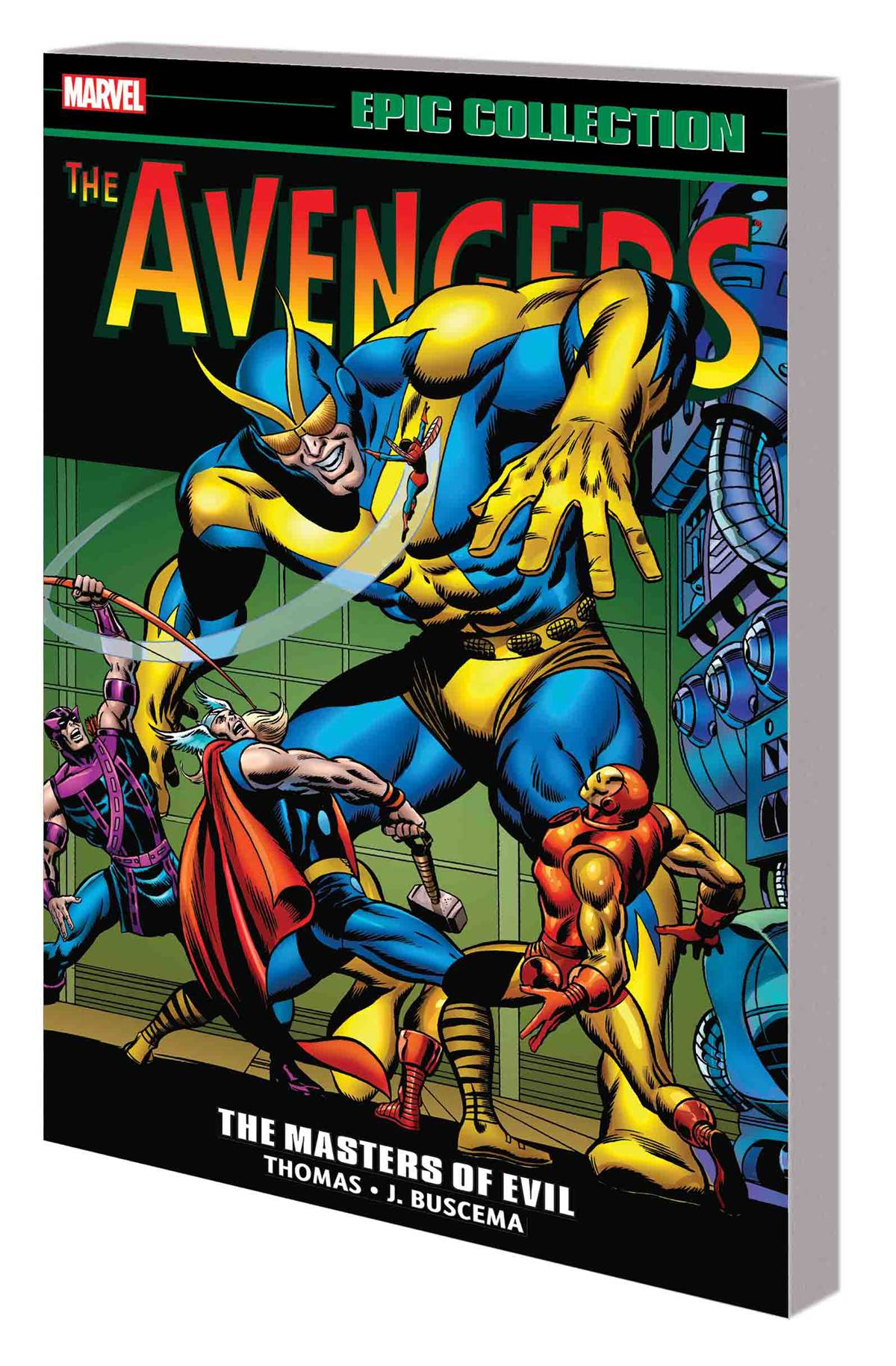 AVENGERS EPIC COLLECTION VOL 03: THE MASTERS OF EVIL