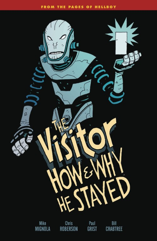 VISITOR: HOW AND WHY HE STAYED