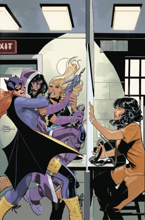 BATGIRL AND THE BIRDS OF PREY#20