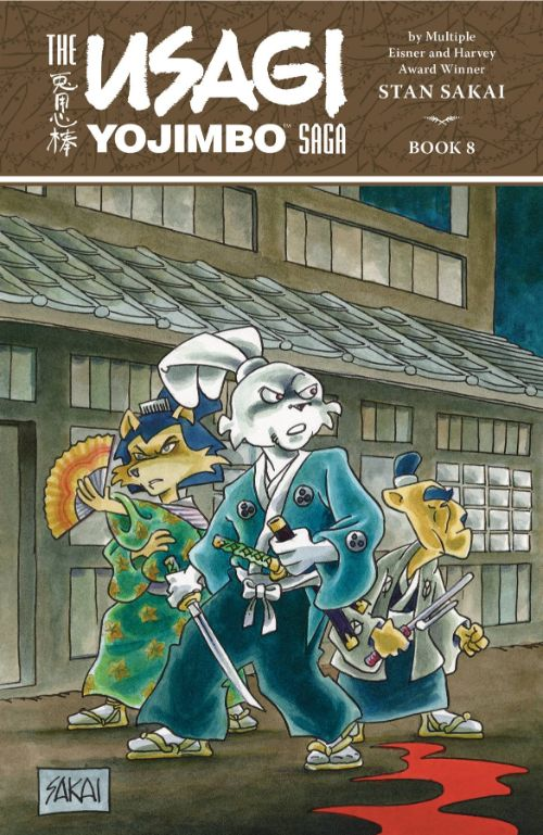 USAGI YOJIMBO SAGA BOOK 08