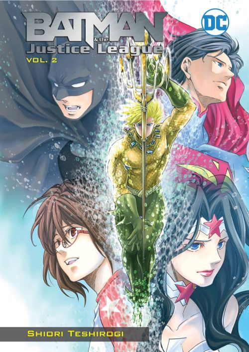 BATMAN AND THE JUSTICE LEAGUE MANGA VOL 02