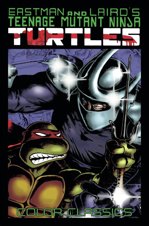 TEENAGE MUTANT NINJA TURTLES COLOR CLASSICSVOL 02