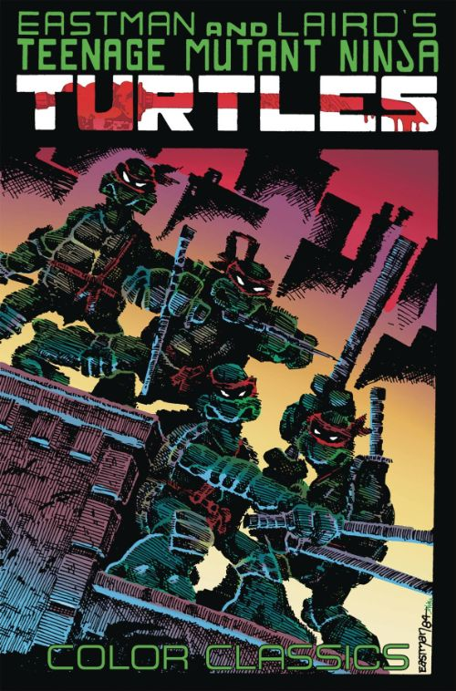TEENAGE MUTANT NINJA TURTLES COLOR CLASSICSVOL 01