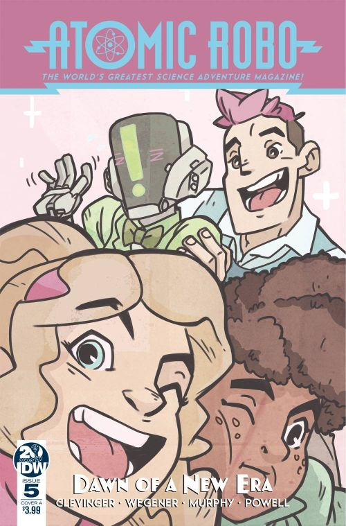ATOMIC ROBO AND THE DAWN OF A NEW ERA#5