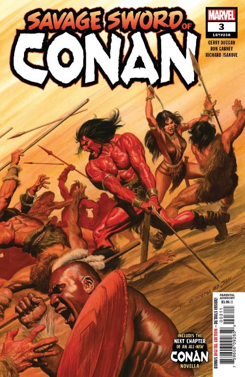 SAVAGE SWORD OF CONAN#3