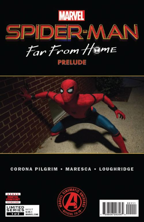 SPIDER-MAN: FAR FROM HOME PRELUDE #1