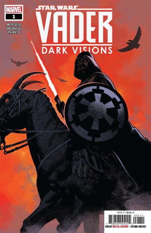 Star Wars: Vader--Dark Visions #1