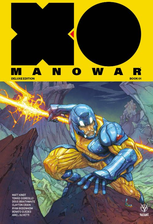 X-O MANOWAR BY MATT KINDT DELUXE EDITION VOL 01