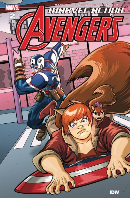 MARVEL ACTION: AVENGERS #2
