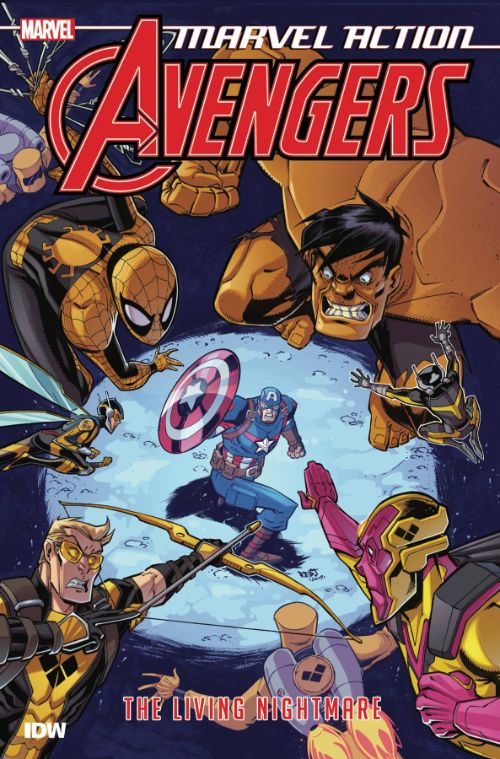 MARVEL ACTION: AVENGERS BOOK 04: THE LIVING NIGHTMARE