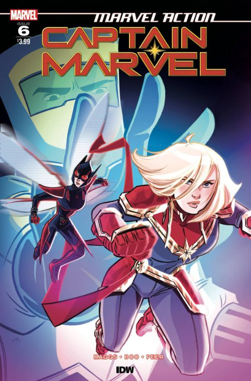 MARVEL ACTION: CAPTAIN MARVEL #6