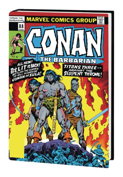 CONAN THE BARBARIAN: THE ORIGINAL MARVEL YEARS OMNIBUSVOL 04