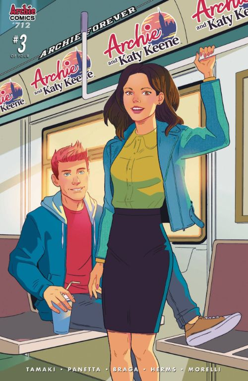 ARCHIE#712 (ARCHIE AND KATY KEENE #3 OF 5)