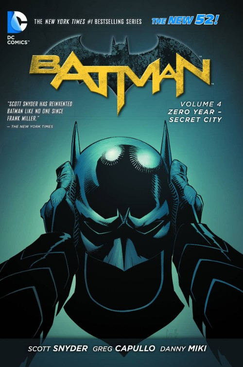BATMAN VOL 04: ZERO YEAR--SECRET CITY