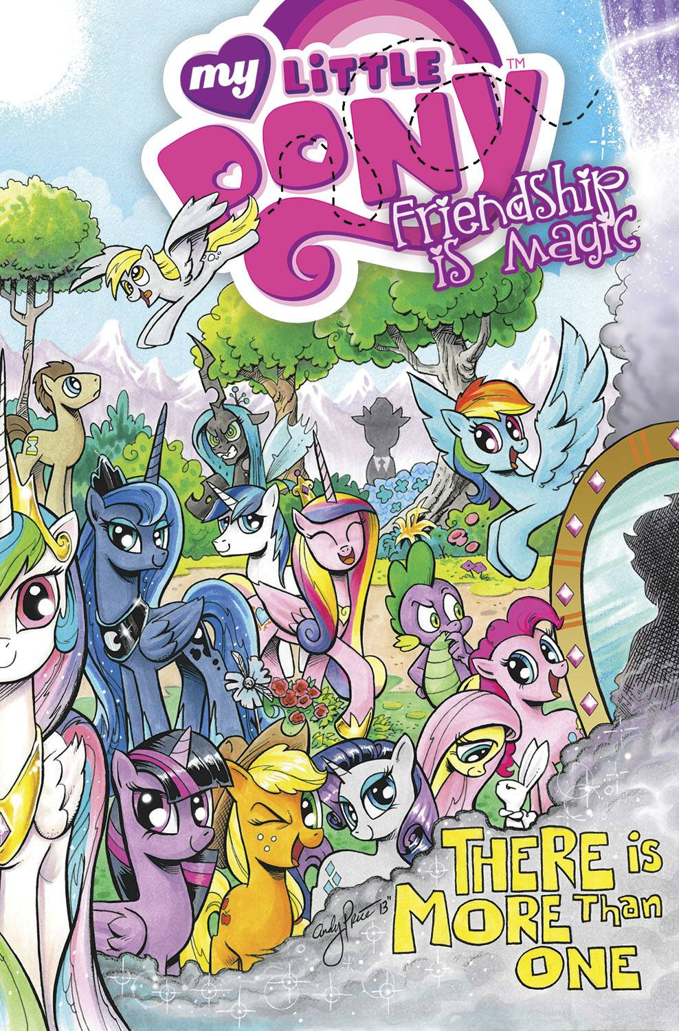 MY LITTLE PONY: FRIENDSHIP IS MAGIC VOL 05